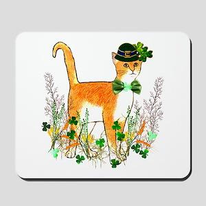 St. Patrick's Day Cat Mousepad
