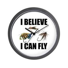 I Believe I Can Fly Wall Clock