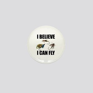 I Believe I Can Fly Mini Button