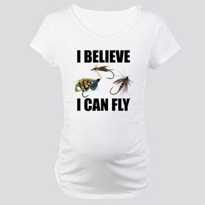 I Believe I Can Fly Maternity T-Shirt