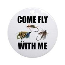 Come Fly With Me Ornament (Round)