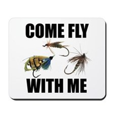 Come Fly With Me Mousepad