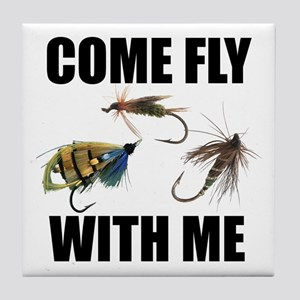Come Fly With Me Tile Coaster