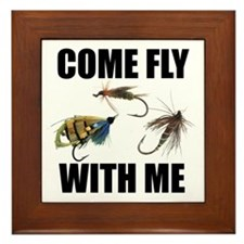 Come Fly With Me Framed Tile