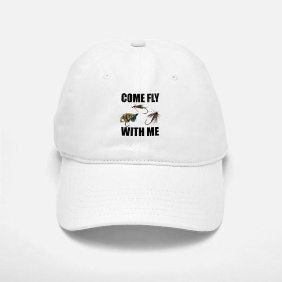 Come Fly With Me Baseball Baseball Cap