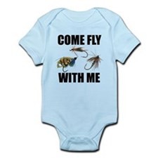Come Fly With Me Infant Bodysuit