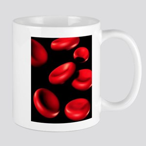 Red blood cells Stainless Steel Travel Mugs