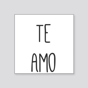 Te Amo Sticker