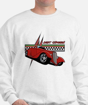 Just Cruisin' Hot Rod Sweatshirt