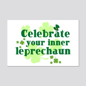 Celebrate Inner Leprechaun Mini Poster Print