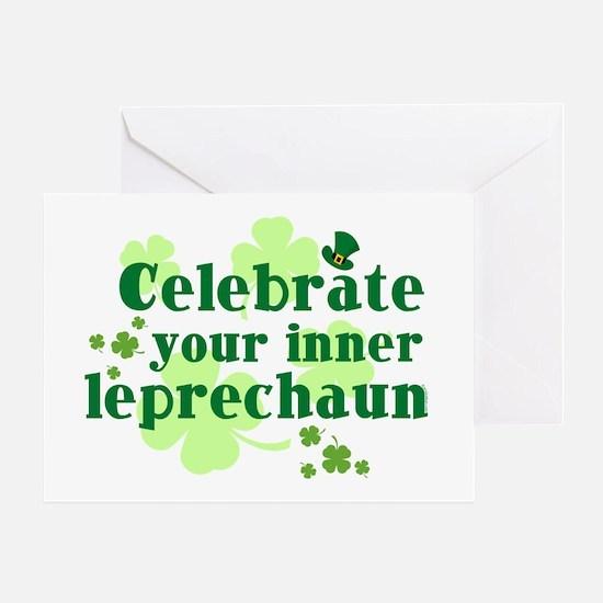 Celebrate Inner Leprechaun Greeting Card