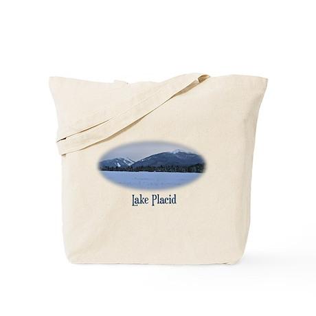 Lake Placid Mountain Tote Bag