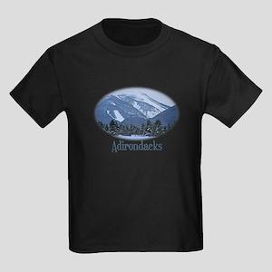Adirondack Mountains Kids Dark T-Shirt