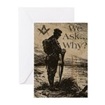 The Ultimate Sacrifice Greeting Cards (Pk of 20)