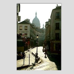 Montmartre Paris Postcards (Package of 8)