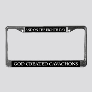 8TH DAY Cavachons License Plate Frame