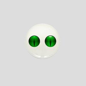 Glowing Eyes Mini Button