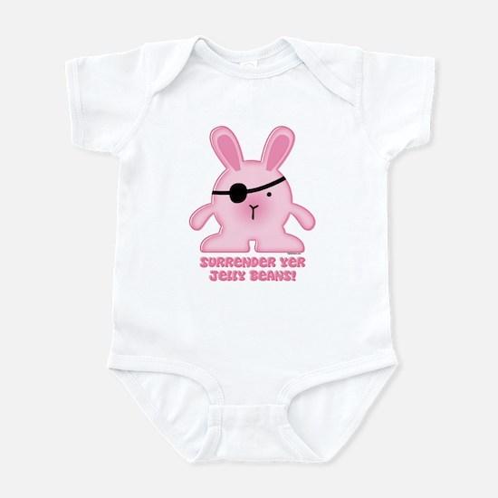 Pirate Bunny Infant Bodysuit
