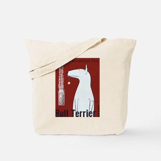 Bull Terrier Tea Tote Bag