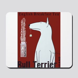 Bull Terrier Tea Mousepad