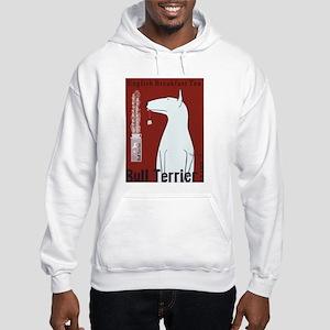 Bull Terrier Tea Hooded Sweatshirt