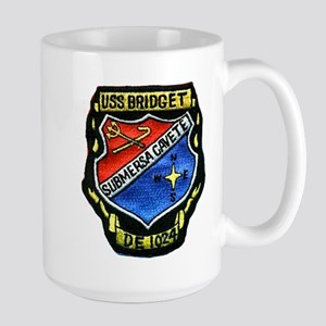USS BRIDGET Large Mug