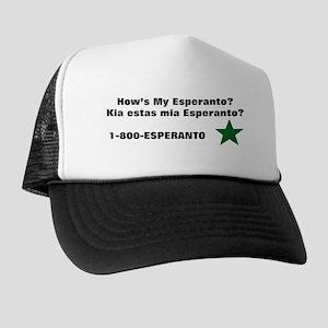 How's My Esperanto Trucker Hat