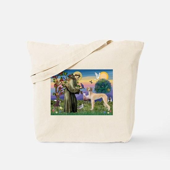 St. Francis & Saluki Tote Bag