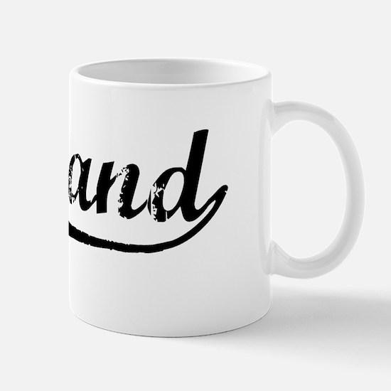 Vintage Portland (Black) Mug