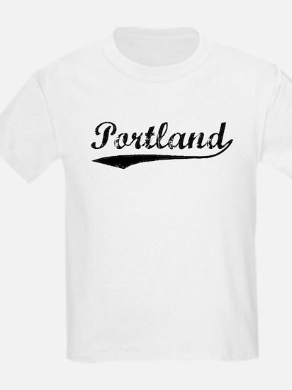 Vintage Portland (Black) T-Shirt