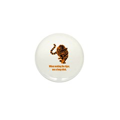Waking the tiger Mini Button (100 pack)