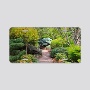 Path to tranquility Aluminum License Plate