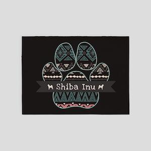 Shiba Inu 5'x7'Area Rug