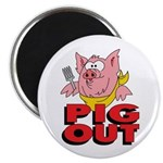 Pig Out Magnet