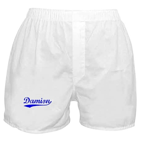 Vintage Damion (Blue) Boxer Shorts