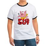 Pig Out Ringer T
