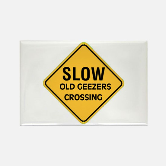OLD GEEZERS Rectangle Magnet (10 pack)