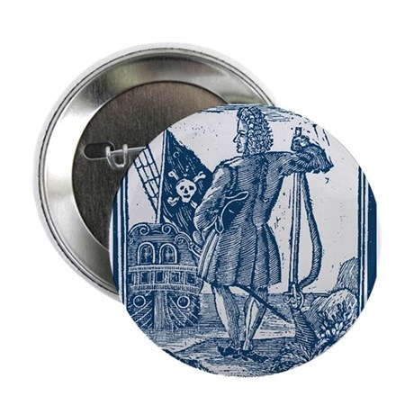 Stede Bonnet Pirate Button