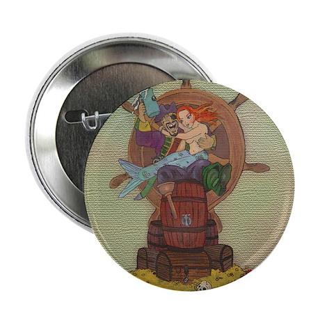 Pirate & Mermaid Button
