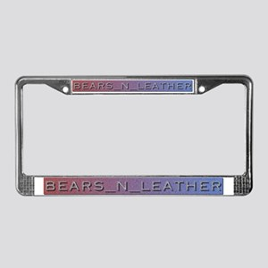 BEARS N LEATHER License Plate Frame