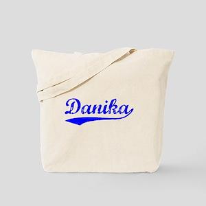 Vintage Danika (Blue) Tote Bag