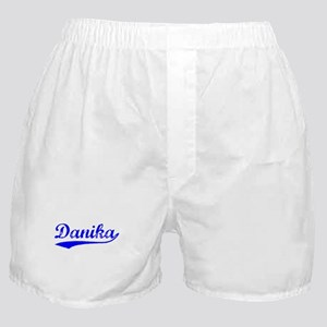 Vintage Danika (Blue) Boxer Shorts