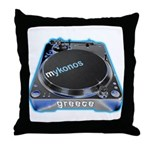 Mykonos Turntable Throw Pillow