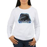 Mykonos Turntable Women's Long Sleeve T-Shirt