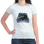Mykonos Turntable Jr. Ringer T-Shirt