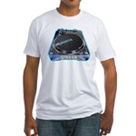 Mykonos Turntable Fitted T-Shirt