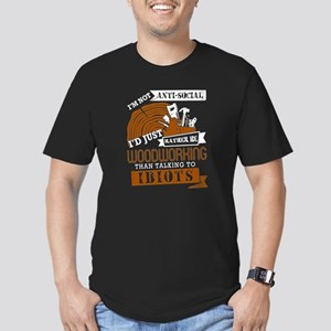 I Just Raither Be Woodworing T Shirt T-Shirt