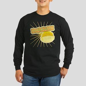 Cheese and Mac Long Sleeve Dark T-Shirt