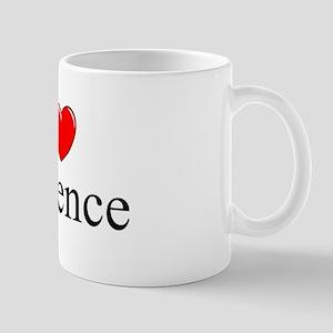 """""""I Love Violence"""" Mug"""