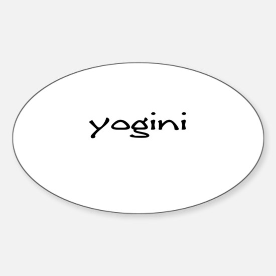 bodaciousyoga Oval Decal